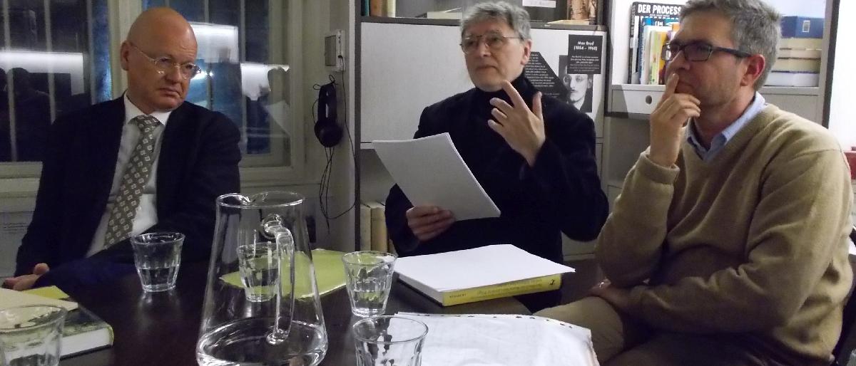 Presentation des Handbuchs der deutschen Literatur Prags und der Böhmischen Länder
