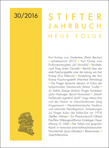 Umschlag Stifter Jahrbuch