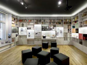 Prager Literaturhaus, Interieur
